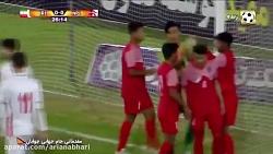 خلاصه بازی ایران 4 - نپا...
