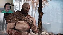 گیم پلی بازی God of War 4 - قس...