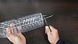 ساخت تله پرنده با یک بطری