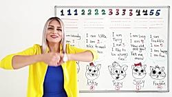 آموزش اعداد انگلیسی برای کودکان با شعر | آموزش زبان انگلیسی - کانال 590