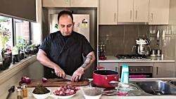 آموزش قرمه سبزی به سبك رستورانی
