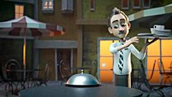 انیمیشن زیبایی عاشقانه واقعا دیدنی -آهنگ از امیر یگانه