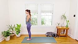 ورزش یوگا در خانه - آموزش تمرینات یوگای صبح