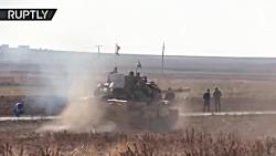 درگیری های شدید بین ارتش سوریه و نیروهای تحت رهبری ترکیه در الحسکه