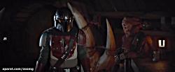 مبارزه ماندالوریان در ویدیو سریالThe Mandalorian