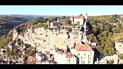 سفر به روستای فوق العاده زیبای روکامادور فرانسه در 3 دقیقه! | آژانس ققنوس