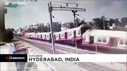 دو قطار مسافربری در هند شاخ به شاخ شدند