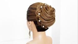 آموزش بافت موی شیک برای عروس