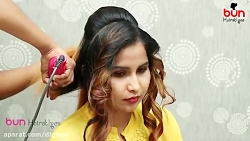آموزش مدل موی مجلسی دخترانه برای عروسی