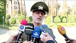 امیر حاتمی: تحریم ها هیچ تاثیری بر اداره و فعالیت نیروهای مسلح ندارند