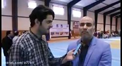 علیرضا شریفی معاون تربیت بدنی، فوق برنامه امور پشتیبانی سازمان بهزیستی کشور