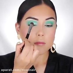 آموزش آرایش صورت آرایش چشم سایه چشم آرایشگری و ترفند های آرایشی شماره 14