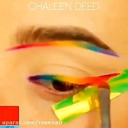 آموزش آرایش چشم آرایش صورت و میکاپ چشم شماره 6