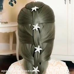 آموزش آرایش وبافت مو و انواع بافت مو شماره 3
