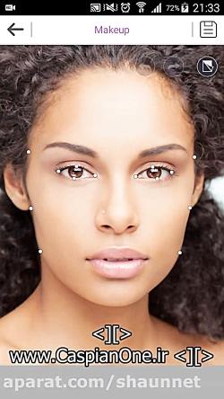نرم افزار آرایش شخصی زنان دختران دانلود از کانال پوشاک زنانه دلربای