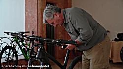 اقامت گردشگران دوچرخه سوار ایتالیایی در هتل هما شیراز