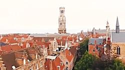 سفر به شهر بسیار زیبای بروژ - بلژیک در 2 دقیقه! Bruges | آژانس ققنوس