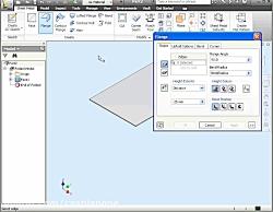 آموزش ورقکاری Sheet Metal در اینونتور Autodesk Inventor Pro 2020
