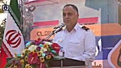 سخنرانی آقای یساولی رئیس سازمان آتش نشانی و خدمات ایمنی شهرداری کرج