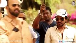 پشت صحنه فیلم هندی خنده دار -بازگشت سینگ هام