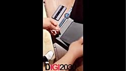 آنباکس و جعبه گشایی گوشی موبایل Huawei Mate x