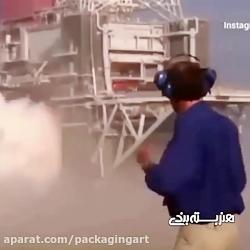 تولید ابر بدون اب در ناسا