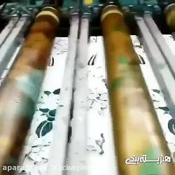 ویدیوی این ماشین چاپ روی پارچه هم جذابه