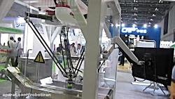 ربات دلتا مخصوص بسته بندی در صنایع - نمایشگاه شانگهای 2017