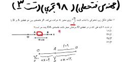 حل فیزیک کنکور ۹۸ تجربی توسط مهندس فتحعلی