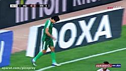 خلاصه بازی عراق 2 - 1 ایران 23 آبان