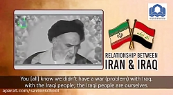 RELATIONSHIP BETWEEN IRAN  IRAQ