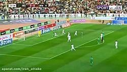خلاصه بازی عراق 2-1 ایران
