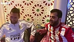 ملاقات ترکی الشیخ رئیس آلمریا با مسی : تو را برای تیمم میخواهم