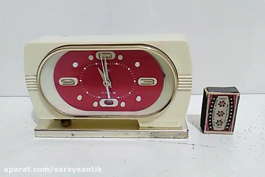 کلیپ کارکارکرد ساعت کوکی رومیزی خوشرنگ قدیمی