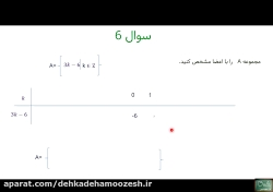 دوره رایگان آموزش ریاضی پایه نهم فصل 1 سوالات ویژه پارت 2