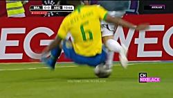 خلاصه ی بازی دوستانه برزیل۰-۱ آرژانتین