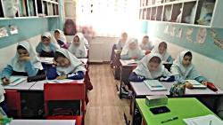 آموزش فارسی در دبستان دخترانه علوی