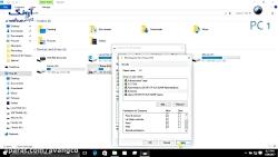 آموزش شبکه کردن دو کامپیوتر از طریق کابل شبکه