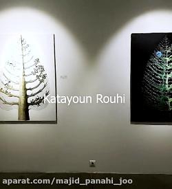 نمایشگاه آثار کتایون روحی در گالری شیرین