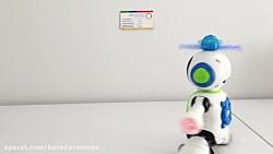 ربات چرخشی موزیکال در پ...