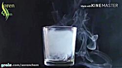واکنش کربن دی اکسید و شمع