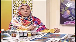 آموزش رنگ آمیزی روی سفال - شیراز