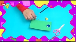 کاردستی های مهد پویا - شوتبال دستی