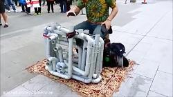 موسیقی خیابانی pipe guy