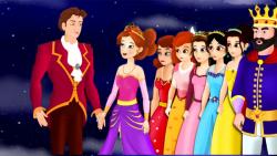 کارتون قصه-دوازده شاهزاده رقصان - قصه های کودکانه - داستان های فارسی جدید