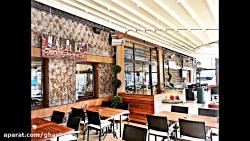 حقانی 09380039391-سقف متحرک رستوران سنتی-سقف برقی حیاط رستورن