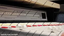 فوتیج دستگاه تنظیم صدا و موسیقی