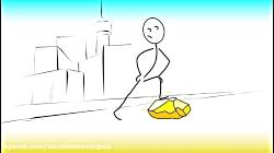 انیمیشن کوتاه «خط»