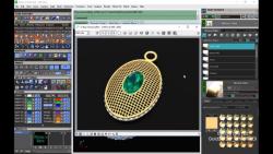 آموزش نرم افزار ماتریکس 9 طراحی طلا و جواهر با رایانه تمرین 288