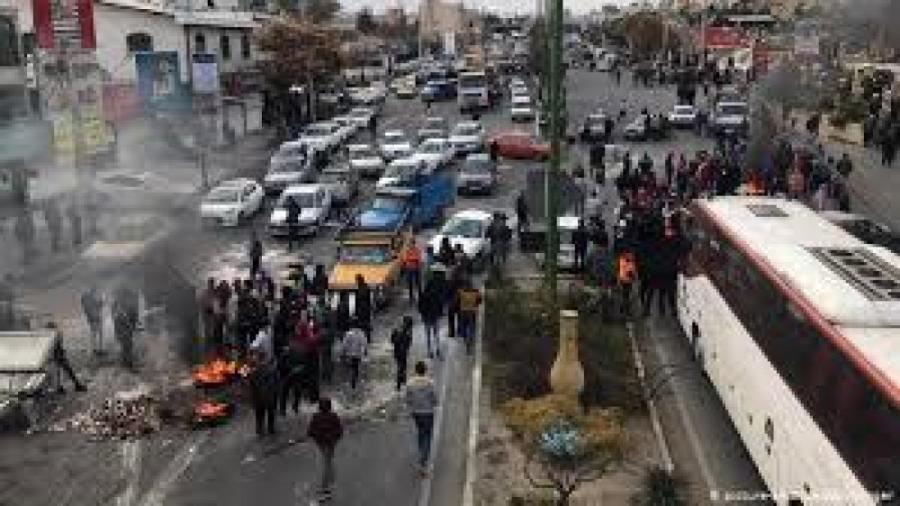 عواقب اغتشاش در  تهران